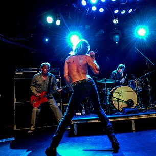 Iggy Pop and the Stooges perform at Le Poisson Rouge on Sunday April 28, 2013.