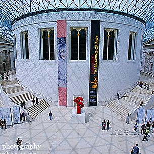 London British Museum ~ Art is all around ~