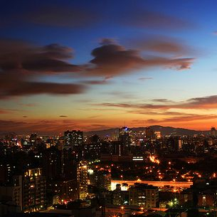 Taipei City Sunset
