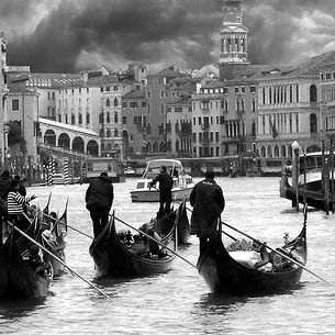The grey charme of Venice